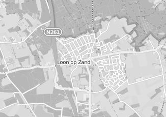 Kaartweergave van Ligtenberg in Loon Op Zand