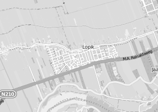 Kaartweergave van Blok in Lopik