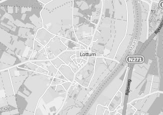 Kaartweergave van Rutten in Lottum