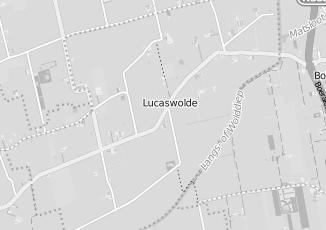Kaartweergave van Albert heijn in Lucaswolde