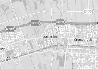 Kaartweergave van Bos in Lutjebroek