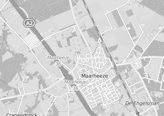 Kaartweergave van Maas in Maarheeze