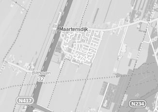 Kaartweergave van Amerongen in Maartensdijk