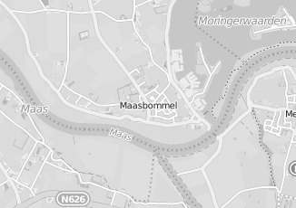 Kaartweergave van Bad in beeld in Maasbommel