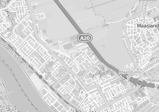 Kaartweergave van Hoek in Maassluis