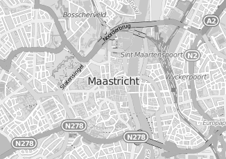 Kaartweergave van Bosman in Maastricht