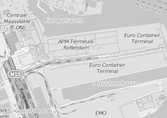 Kaartweergave van Action in Maasvlakte Rotterdam