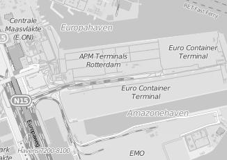 Kaartweergave van Internetdiensten in Maasvlakte Rotterdam