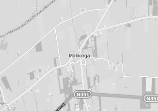 Kaartweergave van Cordewener in Makkinga