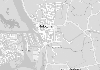 Kaartweergave van Hypotheek in Makkum