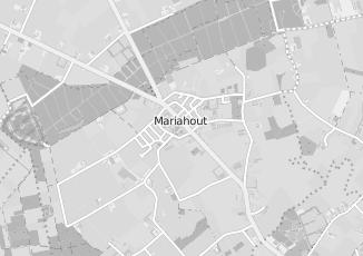 Kaartweergave van H berkvens transport in Mariahout