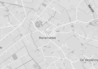 Kaartweergave van Baks in Marienvelde