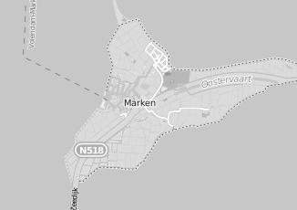 Kaartweergave van Altena in Marken