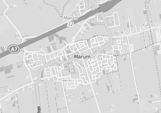 Kaartweergave van Mulder in Marum