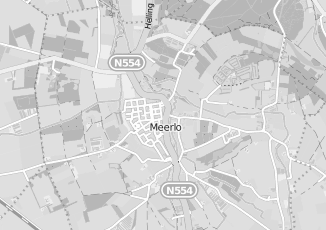 Kaartweergave van M v osch in Meerlo