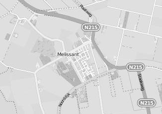 Kaartweergave van Rombout kappers in Melissant