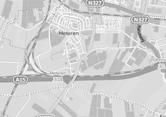 Kaartweergave van Doesburg in Meteren