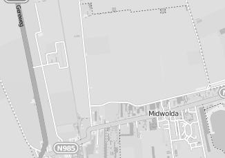 Kaartweergave van Bruggeman in Midwolda