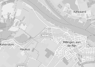 Kaartweergave van Hendriks in Millingen Aan De Rijn