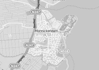 Kaartweergave van Bakker in Monnickendam