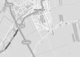 Kaartweergave van Aegon bank in Montfoort