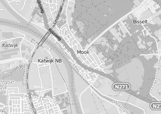 Kaartweergave van Karwei in Mook