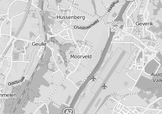 Kaartweergave van Albert heijn in Moorveld