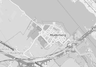 Kaartweergave van Oudshoorn in Muiderberg