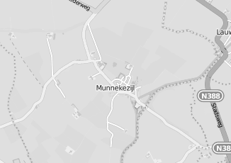Kaartweergave van Bakker in Munnekezijl