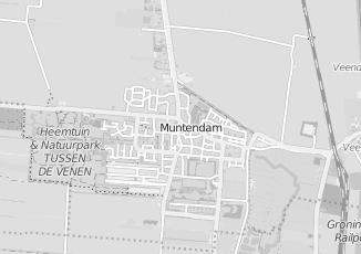 Kaartweergave van Bakker in Muntendam