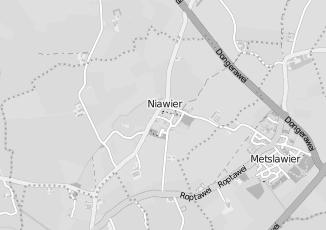 Kaartweergave van Albert heijn in Niawier