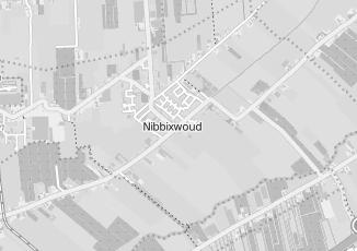 Kaartweergave van Buis in Nibbixwoud