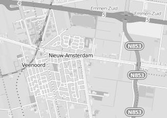 Kaartweergave van Bos in Nieuw Amsterdam