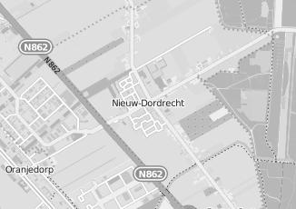 Kaartweergave van Moes in Nieuw Dordrecht