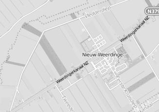 Kaartweergave van Personenautos in Nieuw Weerdinge
