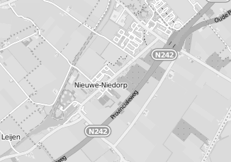 Kaartweergave van Dekker in Nieuwe Niedorp