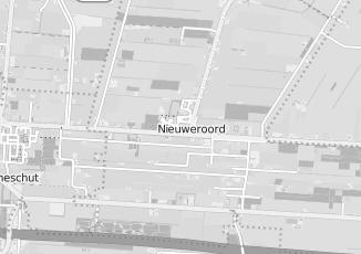 Kaartweergave van Albert heijn in Nieuweroord