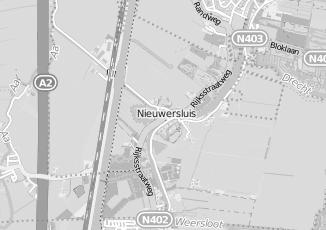 Kaartweergave van Bank in Nieuwersluis