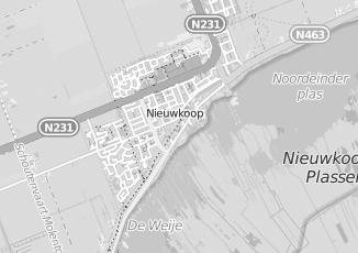 Kaartweergave van Pieterse in Nieuwkoop