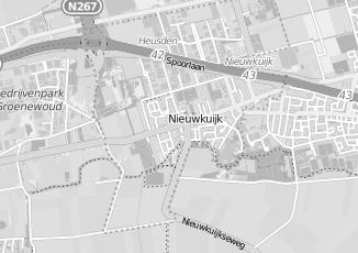 Kaartweergave van Warenhuis in Nieuwkuijk