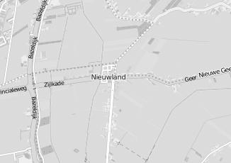 Kaartweergave van Alting in Nieuwland