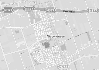 Kaartweergave van Dekker in Nieuwleusen