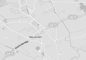Kaartweergave van Action in Nieuwvliet