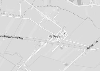 Kaartweergave van Jumbo in Nij Beets