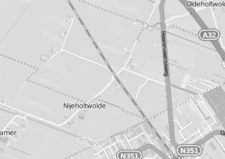 Kaartweergave van Ijzerwaren in Nijeholtwolde