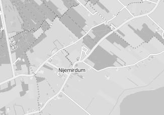 Kaartweergave van Gijzen in Nijemirdum