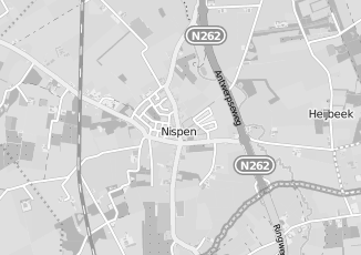 Kaartweergave van Aarts in Nispen