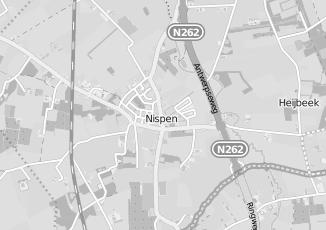 Kaartweergave van Hellemons in Nispen
