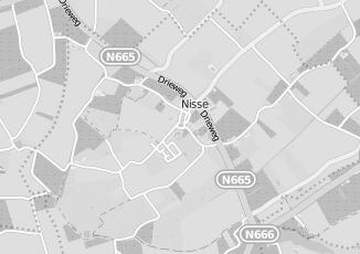 Kaartweergave van Albert heijn in Nisse