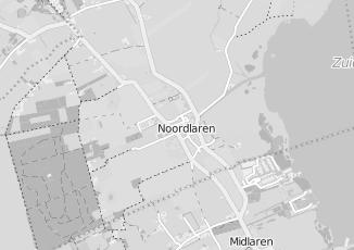 Kaartweergave van Dietist in Noordlaren
